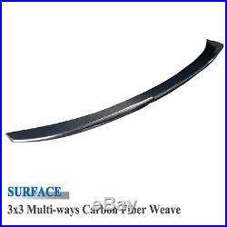 05-12 BMW E90 4DR M3 PSM Style Real Carbon Fiber Trunk Spoiler 335i 330i 328 325