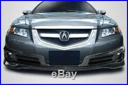 07-08 Acura TL Type S Carbon Fiber Creations Front Bumper Lip Body Kit! 115427