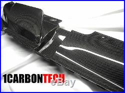 09 2010 2011 2012 Audi B8 A4 S4 Carbon Fiber Radiator Shroud Cover