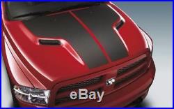 2009-2018 Dodge Ram 1500 Carbon Fiber Hood Decal Applique Emblem Oem New Mopar