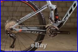 2018 Scott Spark 910 Carbon Large 29in Mountain Bike New Gray/Orange/Black