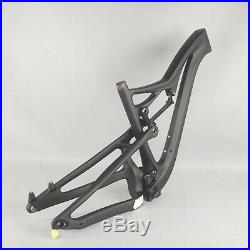 2021 27.5er/29er boost All Mountain Full Suspension Carbon Frame MTB Bike FM356