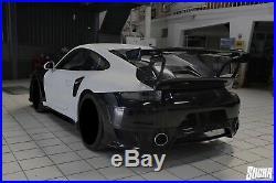911 GT2RS Style POR Carbon Fiber Spoiler Wings Fit Porsche 991.1&991.2 Carrera
