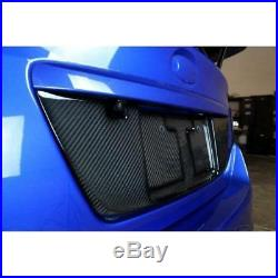 APR Performance Carbon Fiber Rear License Plate Frame Backing Subie WRX STI 15+