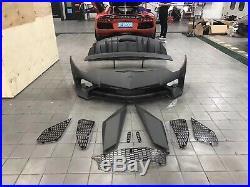 AVENTADOR LP750SV LP700 Carbon Front bumper rear bumper spolier LAMBORGHINI