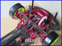 Alloy & Carbon RC 110 1/10 4WD Drift Racing Car SAKURA D3 CS OP Frame Kit