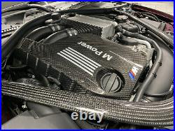 BMW M Performance Style Engine Cover panel in Carbon fiber FOR M3 F80 M4 F82 F83