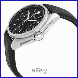 Bulova Special Edition Moon Apollo Lunar Pilot Chronograph Black Dial Men's