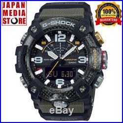 CASIO G-SHOCK GG-B100-1A3JF Mudmaster Carbon Core Bluetooth Men Watch GG-B100-1A