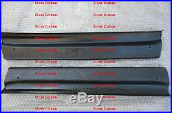 Carbon Fiber Door Sill Step Panel For Mazda Rx7 FD3S