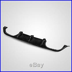 Carbon Fiber Rear Bumper Diffuser Lip Body kits Fit for BMW F80 M3 F82 M4 15-17