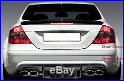 Carbon Fiber Rear Diffuser Fit For Benz W209 CLK 63 AMG Black Series