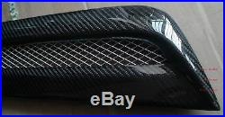 Carbon Fiber Scoop Vent VT Style 3pcs Fit For 08-15 Lancer EVO X 10 Hood