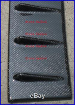 Carbon Fiber Shark Fin Roof Spoiler Generator For 08 09 10 11-15 Lancer EVO X 10
