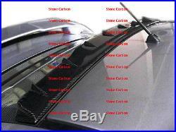 Carbon Fiber Shark Fin Roof Spoiler V Style For 08 09 10 11-15 Lancer EVO X 10