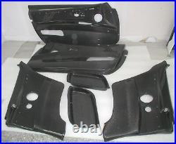 Carbon fiber inner door panel Doorblades card Fit LHD BMW 2007-11 M3 E93 E92