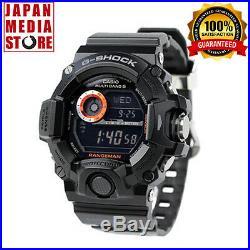 Casio G-SHOCK GW-9400BJ-1JF Master of G RANGEMAN Triple Sensor ver. 3 GW-9400BJ-1