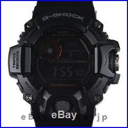 Casio G-Shock GW-9400BJ-1JF Rangeman Tough Solar Carbon Fiber Multiband 6 Watch