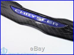 Chrysler 300 Black Carbon Fiber Front Grille Emblem 11-14 Badge OEM Mopar Wing