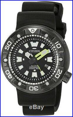 Citizen Men's Eco-Drive Promaster Diver Black DLC 300m Watch BN0175-19E
