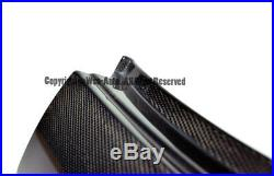 Factory Style Black Carbon Fiber Roof B-Pillar Halo Cover For 05-13 Corvette C6