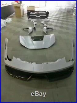 Ferrari 458 MI Full Body Kit Carbon Fiber Front Bumper Rear Bumper LIP Diffuser