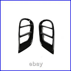 Fits Benz W205 C250 C300 C43 15-19 Front Grill Cover Bumper Air Vent Frame Trim
