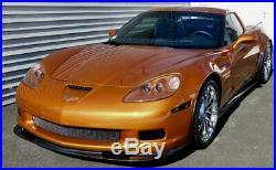 For 05-13 Corvette C6 Z06 ZR1 CARBON FIBER Side Skirts Rocker Panels Body Kit
