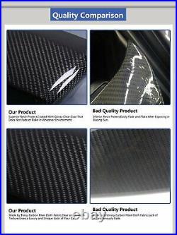 For 11-16 BMW F10 5 Series 535i 528i Trunk Lip Rear Carbon Fiber M5 Spoiler Wing