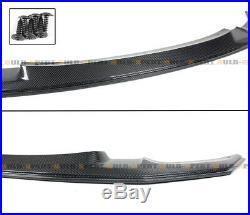 For 15-19 BMW F80 M3 F82 F83 M4 GTS Style Carbon Fiber Front Bumper Lip Splitter