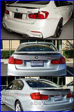 For 2012-18 BMW F30 335i 328i 340i & F80 M3 Carbon Fiber M4 Style Trunk Spoiler