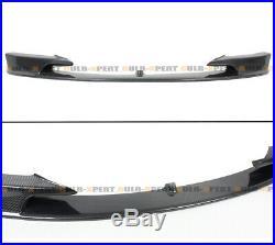 For 2012-18 BMW F30 F31 M Sport Carbon Fiber MP Style Front Bumper Lip Splitter
