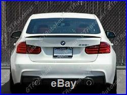 For BMW F30 F80 M3 Sedan Carbon Fiber Boot M Performance Trunk Lid Spoiler Wing