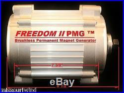 Freedom II 12 Volt 2000 Watt Max 9 Blade Turbine MidNite Solar Classic 150 Kit