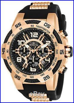 Invicta 24234 Men's Speedway Black Carbon Fiber Dial Chrono Watch