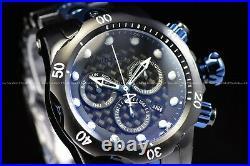 Invicta 54mm Reserve Venom Swiss Chrono Black Blue Two Tone Textured Dial Watch