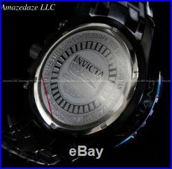Invicta Men 52mm Pro Diver Scuba Chronograph Abalone Dial Iridescent Bezel Watch
