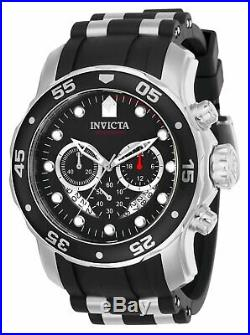 Invicta Men's Watch Pro Diver Scuba Quartz Chronograph Analog Black Dial 21927