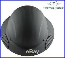 Lift Safety HDFM-17KG Dax Carbon Fiber Composite Hard Hat- Matte Black