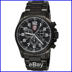 Luminox 1942 Atacama Field Alarm Chrono Black Stainless Steel Watch
