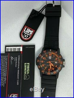 Luminox LeatherBack Sea Turtle Giant 0329 Series Watch NIB