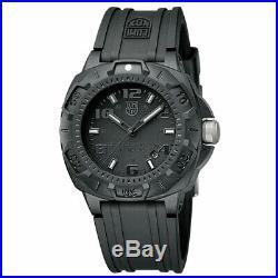 Luminox Men's Watch Sentry 0200 Series Black Dial Silicone Rubber Strap 0201. BO