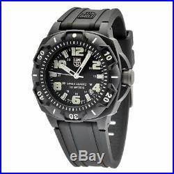 Luminox Men's Watch Sentry 0200 Series Black Silicone Rubber Strap 0201. SL