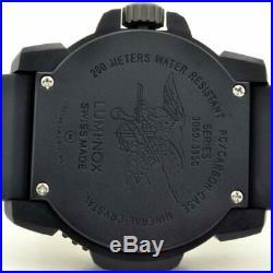 Luminox Watch Navy Seal Men's Swiss Colormark Blackout 3051. BO AUTHORIZED DEALER