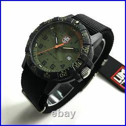 Men's Luminox Leatherback Sea Turtle Giant Nylon Strap Watch 0337