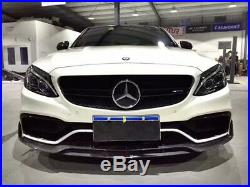 Mercedes-Benz C63 C43 W205 CARBON FIBER Body KIT Side Skirt Front Lip Diffuser
