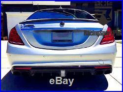 Mercedes-Benz S63/S65 Carbon Fiber Kit Body Kit Carbon Fiber Rear Diffuser