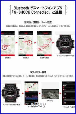 New CASIO G-SHOCK Rangeman Solar Assist GPS Navigation GPR-B1000-1JR Japan EMS