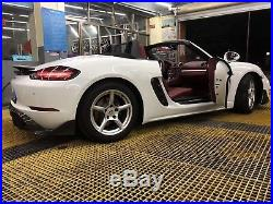 Porsche 718 Carbon Fiber Body Kit Carbon Fiber Diffuser