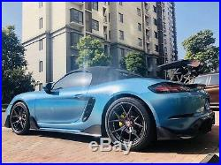 Porsche 718 Carbon Fiber Body Kit Carbon Fiber Rear Air Side Vents